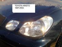 Реснички на передние фары 4шт. для Toyota Aristo JZS160 97-02г.\ Lexus GS300 Корея