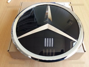 Стеклянная эмблема в решетку Mercedes G-Class