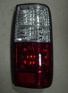 Стоп-сигналы хрустальные (Бело-красные) LAND CRUISER 80 (90-97)