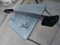 Спойлер на задний богажник , лезвие двойное, универсальный алюминиевый GT, подходит на ALTEZZA SXE 1# (98-05)
