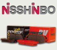 Тормозные колодки Nisshinbo PROTIX VP-282