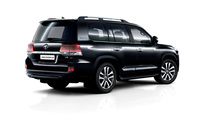 Рейлинги Executive black\white для Land Cruiser 200 2016-