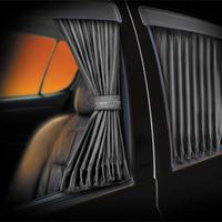 Автомобильные шторы «Vestito» серые