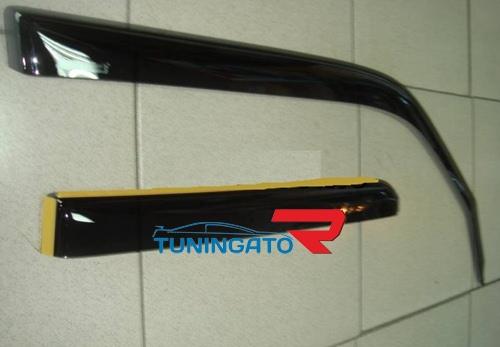 Ветровики дверные (темно-серые) TOYOTA 4RUNNER (2010-)