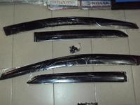 Ветровики дверные с креплением для TOYOTA VITZ / YARIS (99-04)
