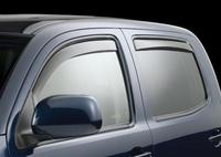 Ветровики дверные (темно-серые) TOYOTA TACOMA Double Cab (2005-)